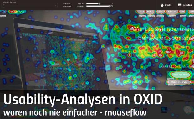 Mouseflow für OXID eShop