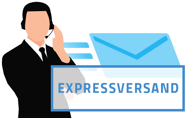 Expressversand für bestimmte Artikel