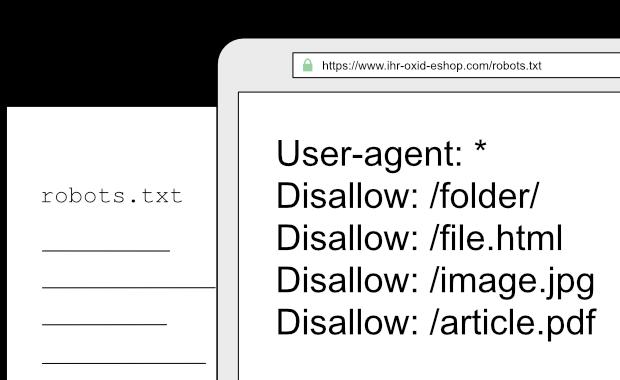 Robots.txt Editor für die OXID eShop Administration