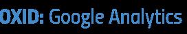 Google Analytics Modul für den OXID eShop