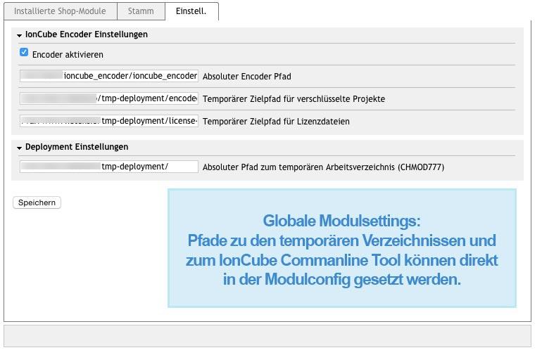 Oxid Moduleinstellungen GIT Download-Produkte
